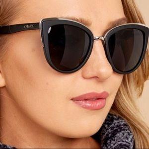 Quay my girl black cat eye sunglasses